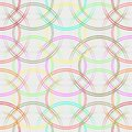 Colorful circles seamless pattern. Fashionable geometric background in trendy colors: soft pink, navy blue, mint, coral, red, ligh