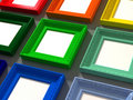 Colorful classic frame Royalty Free Stock Photo