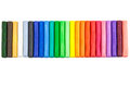 Colorful clay (plasticine) Royalty Free Stock Photo