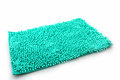 Colorful of cleaning feet doormat or carpet texture on white background Stock Photo