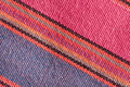 Colorful cloth close up detailed image of as a background Royalty Free Stock Photos