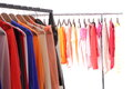 Colorful clothes Stock Images