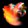 Colorful cloud Royalty Free Stock Photography