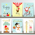 Colorful collection for banners,Flyers,Placards with tree,cake Royalty Free Stock Photo