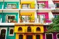 Colorful condos Royalty Free Stock Photo