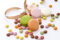 Colorful confectionery Stock Image