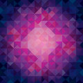 Colorful cool toned triangles abstract background geometric pattern Stock Photos
