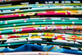 Colorful cotton cloth Stock Photo