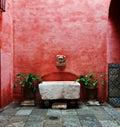 Seville courtyard Royalty Free Stock Photo