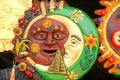 Colorful craftsmanship in tajin veracruz, mexico I Royalty Free Stock Photo