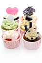 Colorful Cup Cake Royalty Free Stock Photo