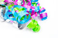 Colorful Curled Ribbon Stock Photography