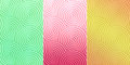 Colorful Curly circle pattern texture which can be used as backg Royalty Free Stock Photo