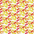 Colorful cute delicious tasty yummy ripe juicy lovely orange summer autumn dessert orange, mandarine and lemon slices pattern