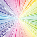 Colorful 3d background with abstract waves, lines. Bright color curves, swirl