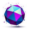 Colorful 3D Mesh Modern Spheri...