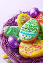Colorful Decorated Easter Cook...