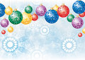 Colorful decoration balls Stock Images