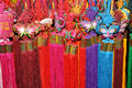 Colorful decoration in Chinese traditional style Royalty Free Stock Photography
