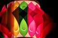Colorful Decorative Lamps During Festival