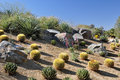 Colorful desert landscape Royalty Free Stock Images