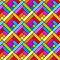Colorful diagonal squares seamless geometric pattern