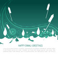 Colorful diwali background Stock Photo