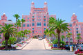 Colorful Don Cesar resort Saint Pete Beach Florida Royalty Free Stock Photo