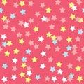 Colorful Donut Glaze Seamless Pattern