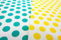 Colorful dot craft paper