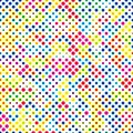 Colorful Dots Concept Vector Background Pattern Texture _1