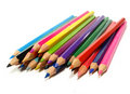 Colorful drawing pencils Stock Photography