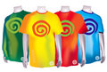 Colorful Dreamstime T-Shirts Royalty Free Stock Photos