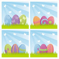 Colorful easter backgrounds Stock Image