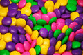 Colorful easter candy mix Stock Images