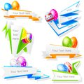 Colorful easter egg easy to edit vector illustration of Royalty Free Stock Photo