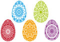Colorful easter eggs,  Stock Photos