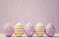 Colorful Easter Eggs. Backgrou...