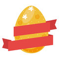 Colorful Easter Eggs Icon Desi...