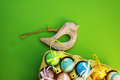 Colorful eggs in a box 3 Royalty Free Stock Photo