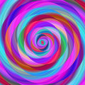 Colorful Ellipse Fractal Spira...