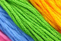 Colorful Embroidery Thread Stock Photo