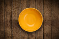 Colorful empty plate on grungy background table shiny Stock Photos