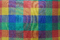 Colorful fabric texture background Royalty Free Stock Images