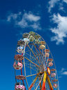 Colorful Ferris wheel Royalty Free Stock Image
