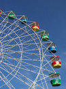 Colorful ferris wheel Stock Photos