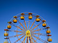 Colorful Ferris wheel at park Royalty Free Stock Photo