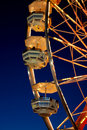 Colorful Ferris Wheel At Twilight Royalty Free Stock Photo