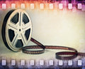 Colorful Film Strip, Film Reel...