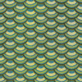 Colorful fish scale plaster tile seamless texture